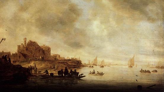 Salomon-Ruysdael-1648-Genneper-Huys