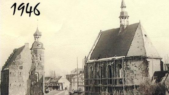Herstel-stadhuis-en-Protestantse-kerk-1946